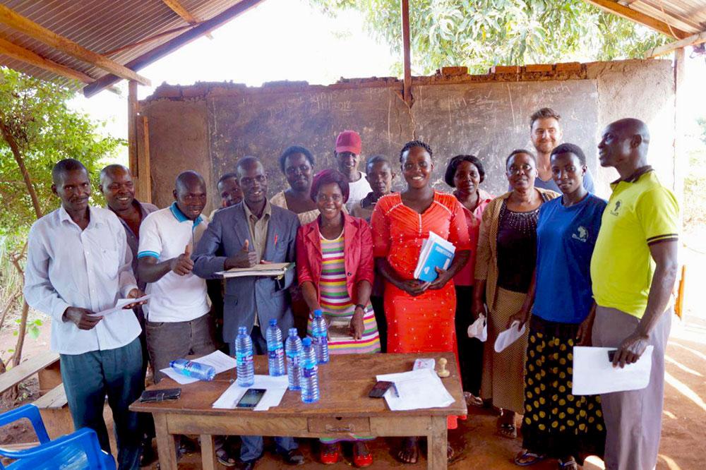 Das Team in Uganda